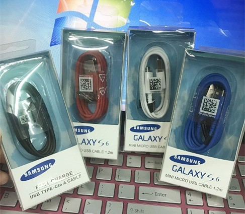 Samsung Galaxy S6 genuine data USB cable