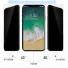 ★Hot Sales! 9H anti-peeping Privacy Screen Protector Anti Spy Tempered Glass iPhone X/8/8plus/7/7plus